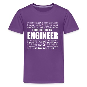 Engineer T-Shirt Limited Edition - Kids' Premium T-Shirt
