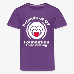 FODFWHITE - Kids' Premium T-Shirt