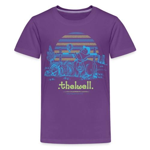 PonyWinThelwell Cartoon - Kids' Premium T-Shirt