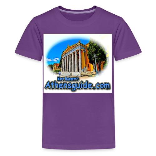 Athensguide Zappion jpg - Kids' Premium T-Shirt