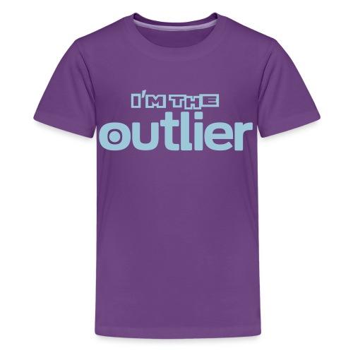 im the outlier - Kids' Premium T-Shirt