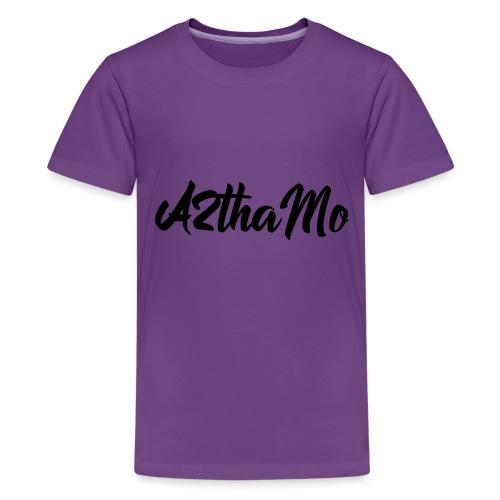 A2thaMo Logo Black - Kids' Premium T-Shirt