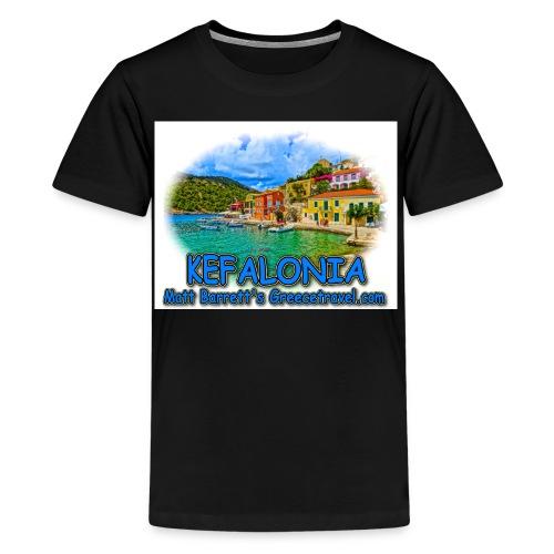 kefalonia1 jpg - Kids' Premium T-Shirt