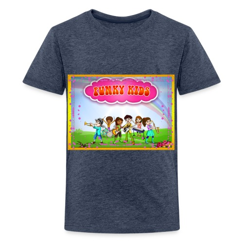 Funky Kids Garden - Kids' Premium T-Shirt