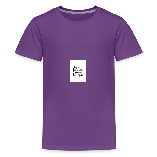 Throw kindness around - Kids' Premium T-Shirt