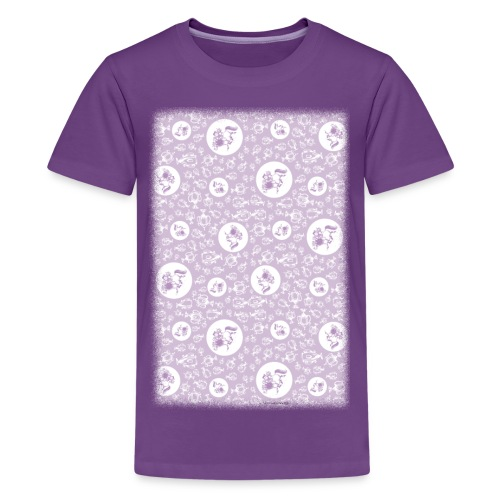 PonyTrophies Thelwell Cartoon - Kids' Premium T-Shirt
