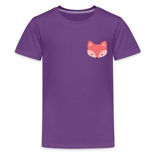 Fox Gift Logo - Kids' Premium T-Shirt