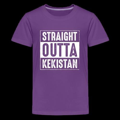 Straight Outta Kekistan - Kids' Premium T-Shirt