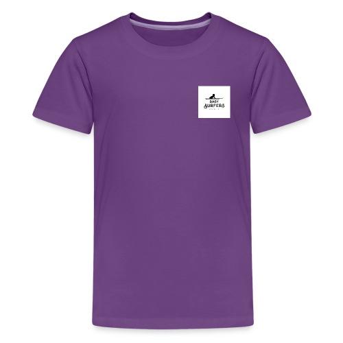 logo ecriture noir fonds blanc - Kids' Premium T-Shirt