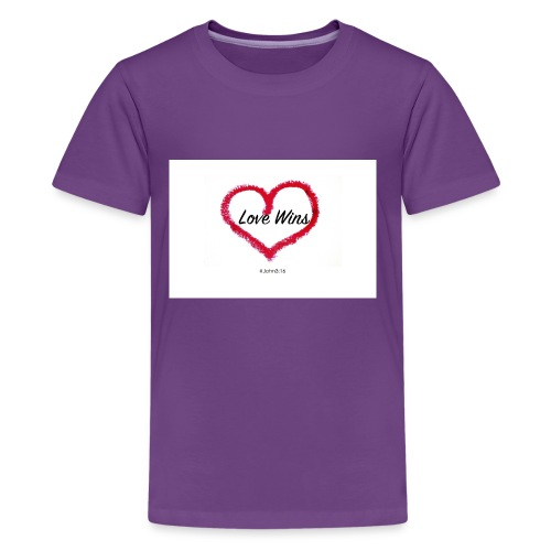 love wins - Kids' Premium T-Shirt