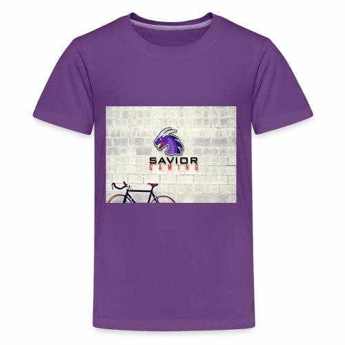 Savior Gaming Logo - Kids' Premium T-Shirt