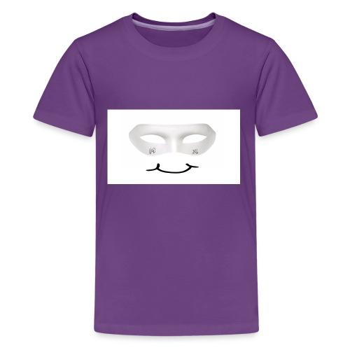 Mx Mask Smile (1) - Kids' Premium T-Shirt