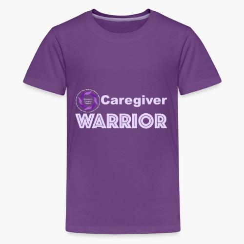 Caregiver Warrior - Kids' Premium T-Shirt