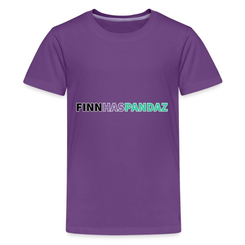 FinnHasPandaz Logo - Kids' Premium T-Shirt