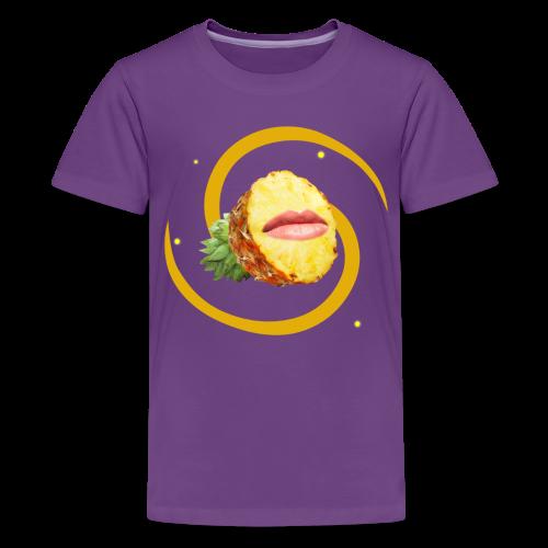 Pineapple Face (FruityPunch game) - Kids' Premium T-Shirt