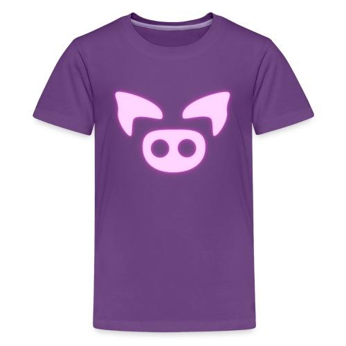 Slapped Ham Logo - Kids' Premium T-Shirt
