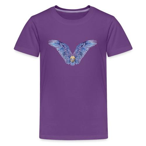 Wings Skull - Kids' Premium T-Shirt