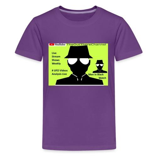 Mib 2 Men with Back Crew Logo - Kids' Premium T-Shirt