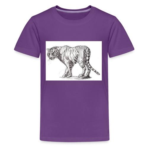 Stalking Tiger - Kids' Premium T-Shirt