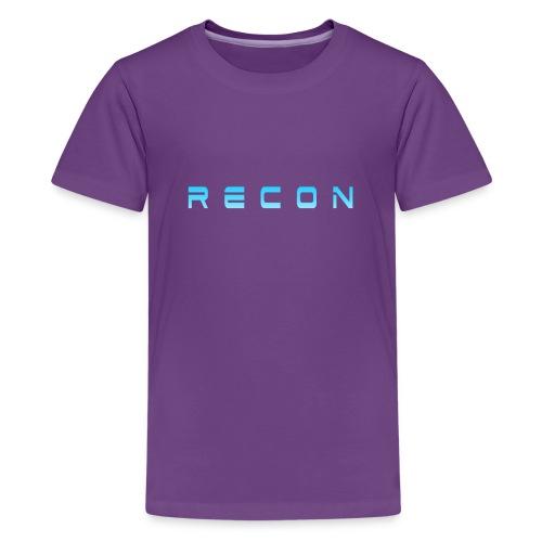 Rec0n Text - Kids' Premium T-Shirt