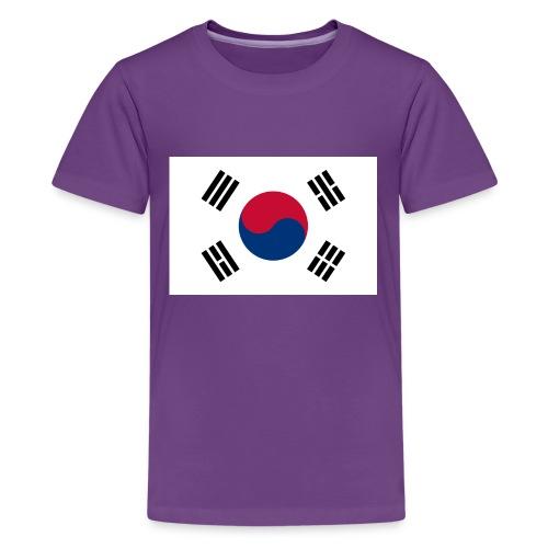Flag of South Korea - Kids' Premium T-Shirt