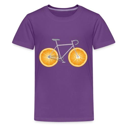 Orange Bike - Kids' Premium T-Shirt