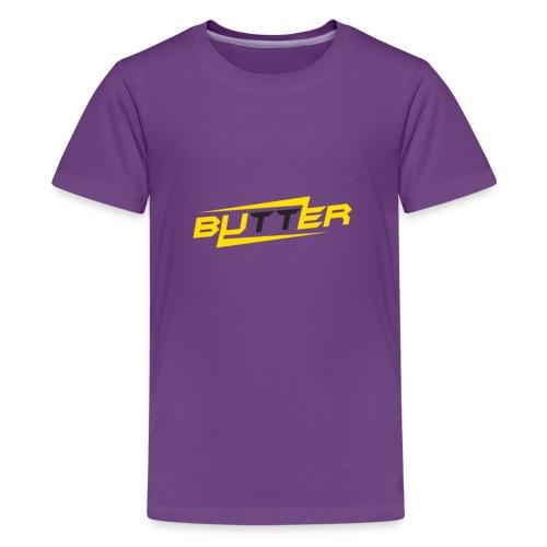 Butter Face Youtube Logo - Kids' Premium T-Shirt