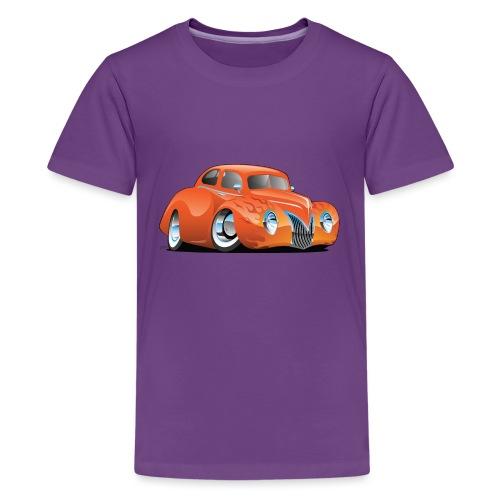 Custom Street Rod Vintage Car Cartoon - Kids' Premium T-Shirt