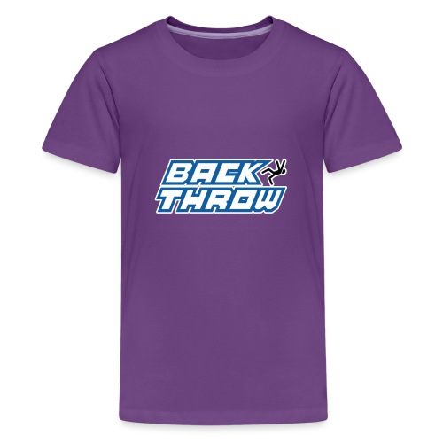 Back Throw Logo - Kids' Premium T-Shirt