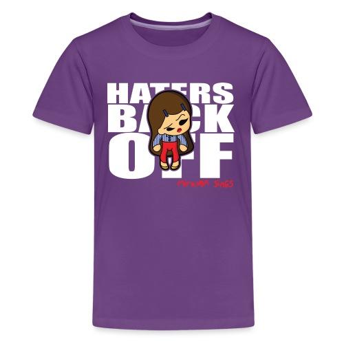 Miranda Sings Haters Back Off - Kids' Premium T-Shirt