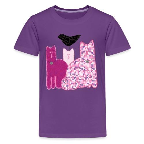 Miranda Sings Favorite Cats - Kids' Premium T-Shirt