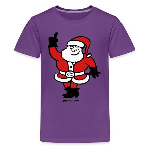 Santa Claus Celebrating - Kids' Premium T-Shirt