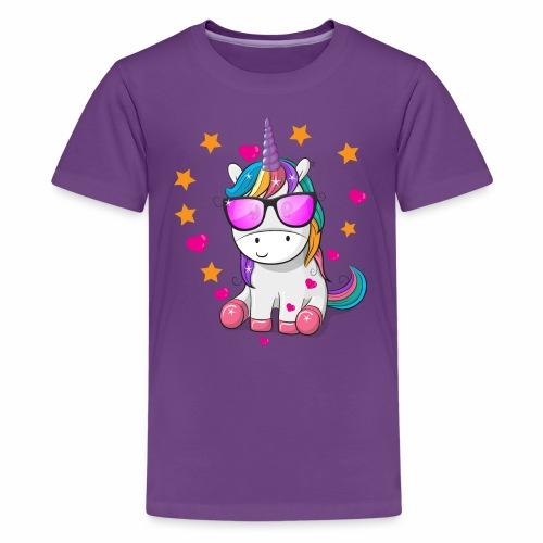 Valentine's Day T-Shirt Gift for Unicorn lovers - Kids' Premium T-Shirt
