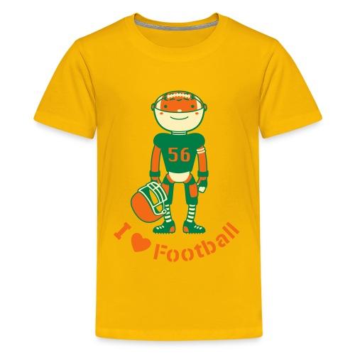 Football - Kids' Premium T-Shirt