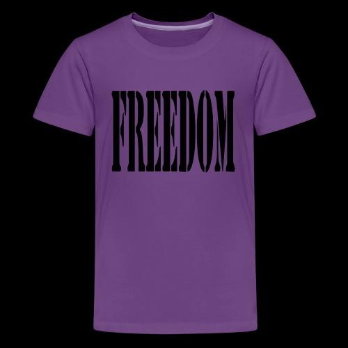 Freedom Logo - Kids' Premium T-Shirt