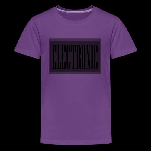 Electronic Logo - Kids' Premium T-Shirt