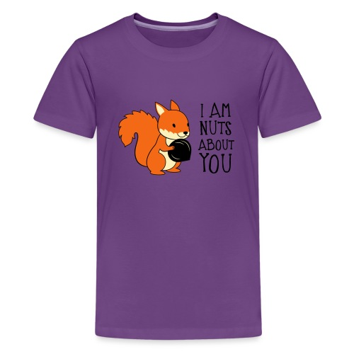 I am nuts about you - Kids' Premium T-Shirt