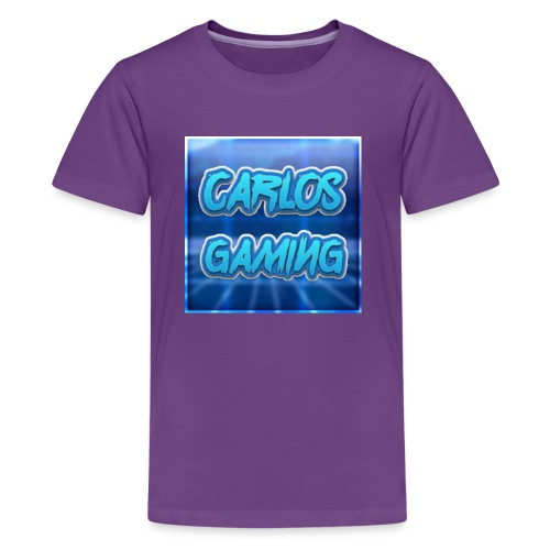 Carlos Gaming merchandise - Kids' Premium T-Shirt