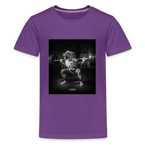 SquattingTiger - Kids' Premium T-Shirt
