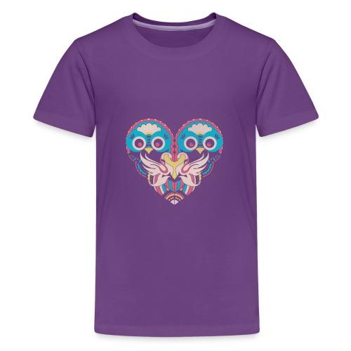 hearts of owls - Kids' Premium T-Shirt