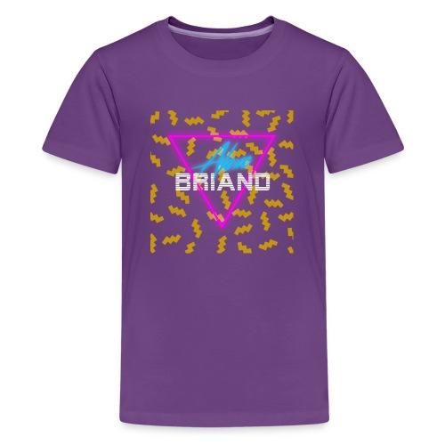 Retro Logo - Kids' Premium T-Shirt