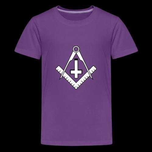 FreemasonCrossBlack - Kids' Premium T-Shirt