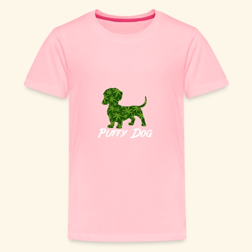 PUFFY DOG - PRESENT FOR SMOKING DOGLOVER - Kids' Premium T-Shirt