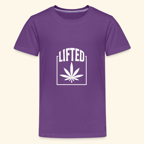 LIFTED T-SHIRT FOR MEN AND WOMEN - CANNABISLEAF - Kids' Premium T-Shirt