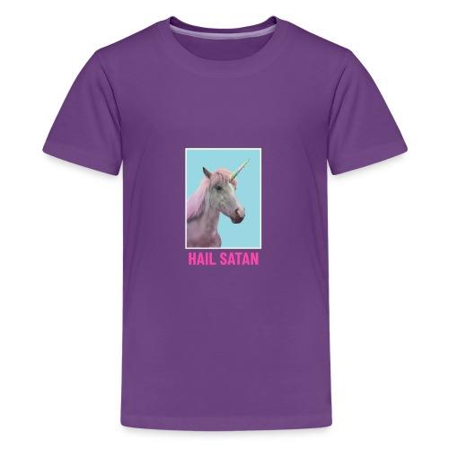 Satanic Unicorn - Kids' Premium T-Shirt