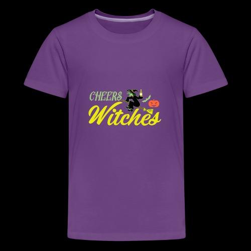 Cheers Witches! | Halloween Drinks - Kids' Premium T-Shirt