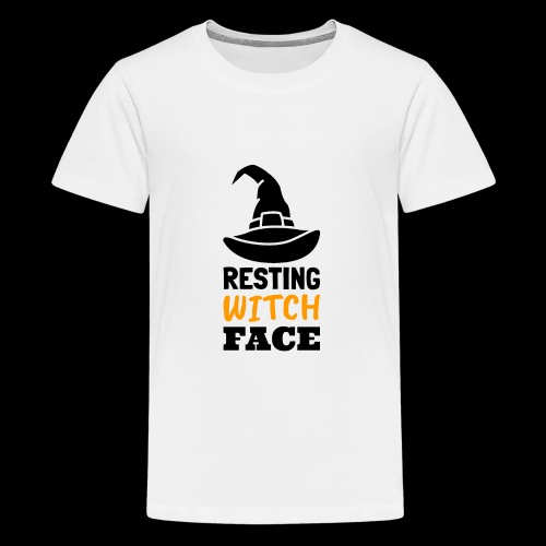 Resting Witch Face | Funny Halloween - Kids' Premium T-Shirt