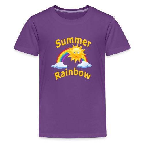 Summer Rainbow - Kids' Premium T-Shirt