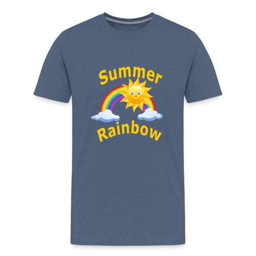 Summer Rainbow - Kids' Premium T-Shirt