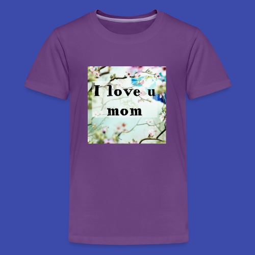 Love for Mom - Kids' Premium T-Shirt